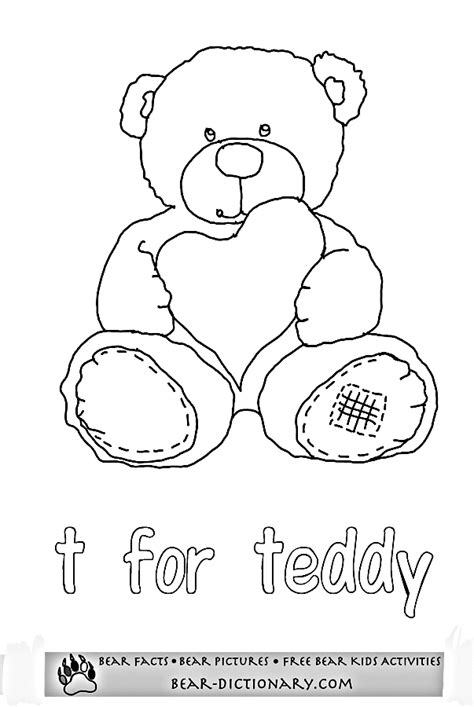 Coloring Worksheets by Printable Worksheets 2 Toby S Fave Teddy