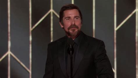 Christian Bale Golden Globe Speech Satanist Approved