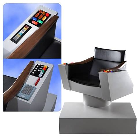trek captains chair size trek original series captain s chair replica