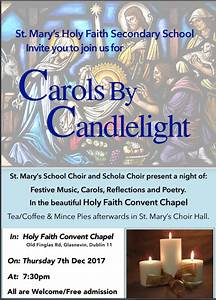 St Mary's HFC Glasnevin | Carols by Candlelight 2017