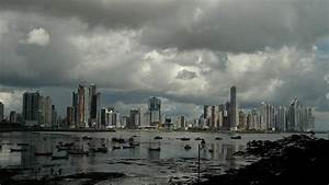 Cloudy Skyline In Panama City Photograph by Arno Peng
