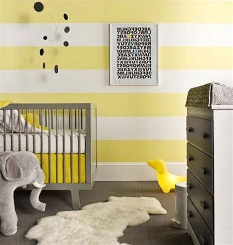 Babyzimmer Wandgestaltung Streifen by Babyzimmer Komplett Gestalten 25 Kreative Und Bunte