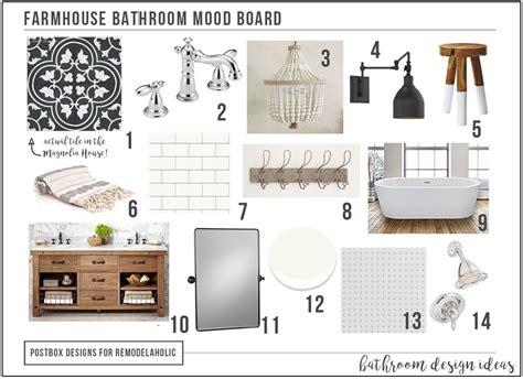 create  timeless farmhouse bathroom makeover  mood