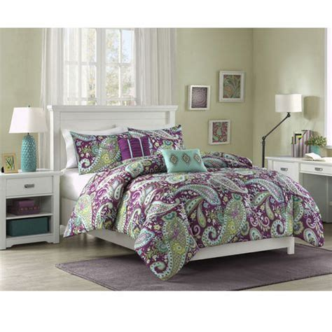 studio a marlo paisley comforter set with 2 decorative pillows