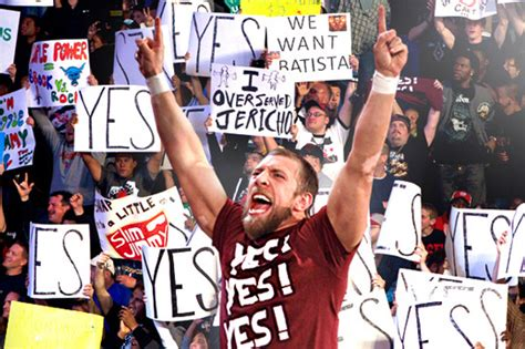 Daniel Bryan's Yes Chants