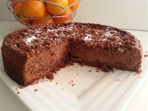 gâteau moelleux choco noisette ou sahne krümmel torte
