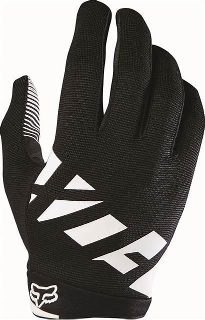 Gloves Fox Bike Ranger Clipart Racing Mountain