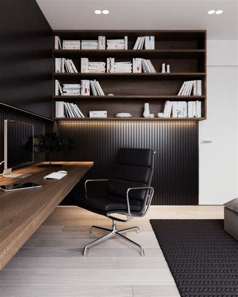 Black Parisian Interior Design Home Office by 25 Gorgeous Home Offices With Black Walls Digsdigs