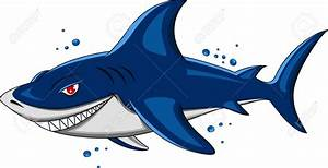 Great White Shark clipart angry shark - Pencil and in ...