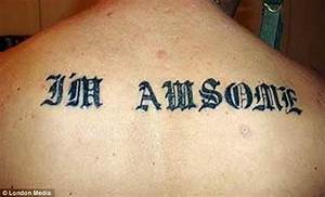 Hilarious photos of misspelled tattoos reveal why you ...