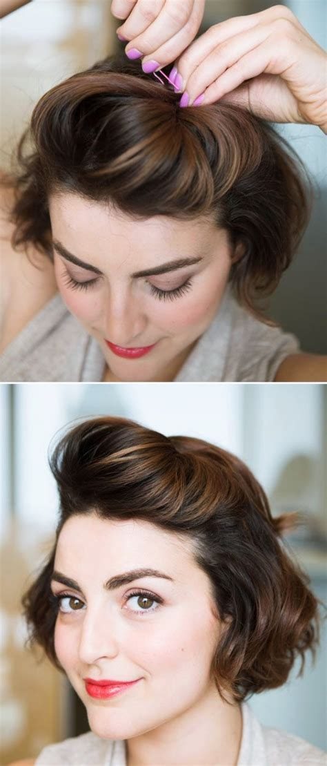 40 easy hairstyles no haircuts for women with short hair