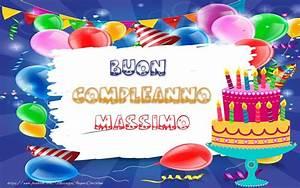 BUON COMPLEANNO Massimo Cartoline di compleanno per Massimo messaggiauguricartoline