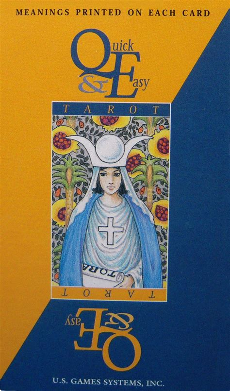 After a while, it becomes one big ole tarot snoozefest. Quick & Easy Rider Waite Tarot Deck meanings on cards NEW