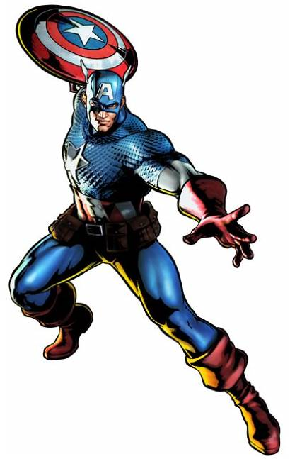 Marvel Character Captain America Transparent Background Clipart