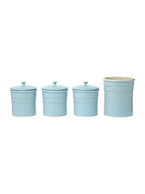 blue kitchen storage jars linea maison pale blue storage house of fraser 4831