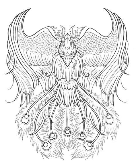 tattoo drawing phoenix tattoo design  devorart