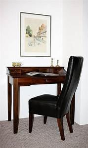 Schreibtisch Dunkles Holz : schreibtisch braun holz ~ Yasmunasinghe.com Haus und Dekorationen