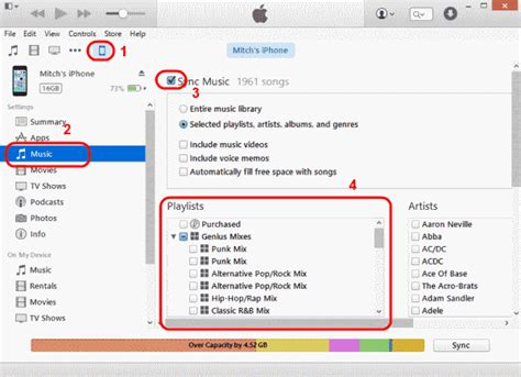 sync itunes playlist to iphone itunes how to copy playlists to iphone or ipod