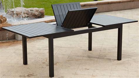 table de jardin aluminium salon bas de jardin pas cher maisonjoffrois