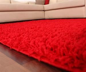 Langflor Teppich Saugen : shaggy sky rot hochflor teppiche ~ Markanthonyermac.com Haus und Dekorationen