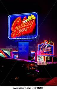 Route 66 in Flagstaff Arizona Landmark neon sign of the
