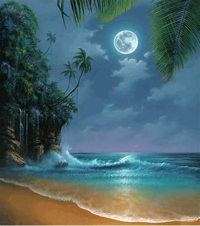 Natureza Linda Imagens Lindas Moon Tropical Scenes