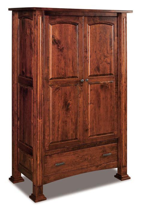 lexington wardrobe armoire  dutchcrafters amish furniture