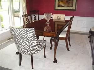 The most modern animal print dining chairs home decor for Animal print furniture home decor