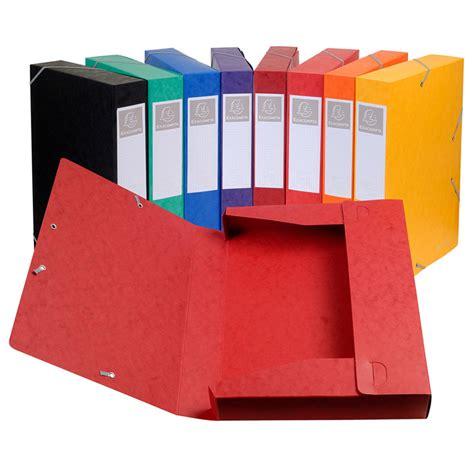 exacompta boites de classement cartobox dos 60 mm assortis x 10 bo 238 te de classement exacompta