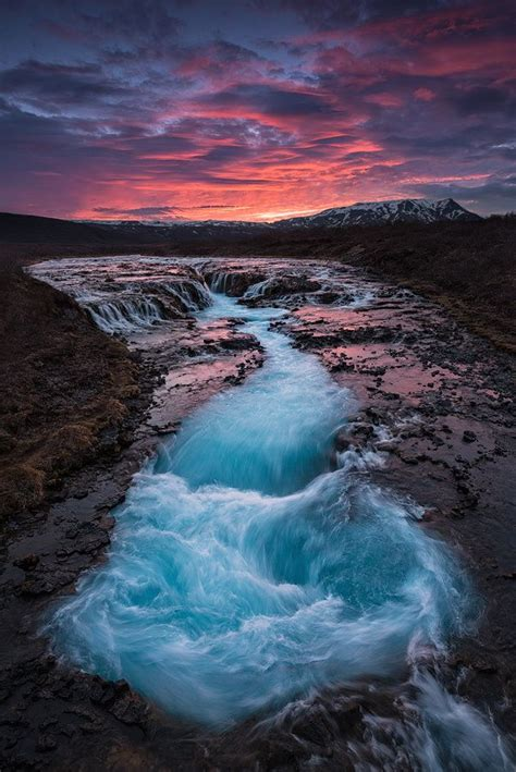 Bruarfoss Is A Hidden Gem Of Iceland Isolated From The