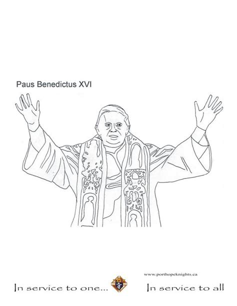 popes coloring pages