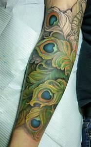 Peacock#Sleeve#Tattoo   Inked   Pinterest