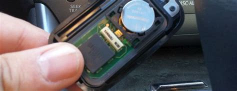 lexus key fob remote battery replacement diy