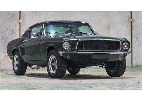 Bullittspec 1968 Ford Mustang Fastback