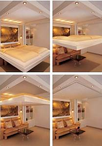 Transformer Furniture For The 1%: Amazing Cantilevered Bed