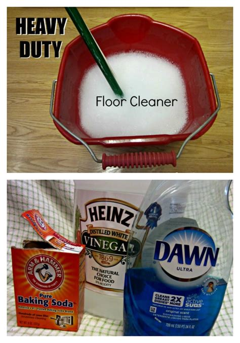 the gunk your tile floors and leave them