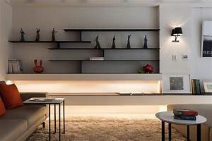 Unusual unique wall shelves designs ideas for living room