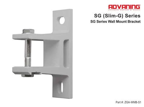 sg series wall mount bracket
