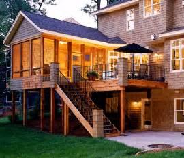 3 Season Porch Covered Deck Great 3 Season Porch Windows Design Idea