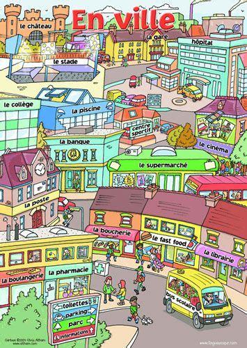 vocabulaire de la chambre 96 best images about fle lexique de la ville on
