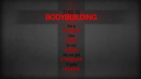 Bodybuilder, Motivational, Red, Minimalism, Quote
