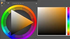 Tri U00e1ngulo Y Cuadro Del Color En Photoshop  Magic Picker