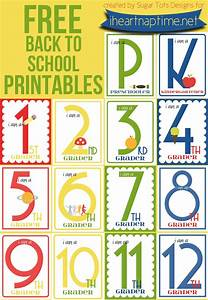 FREE Back to School Printables (K-12) - I Heart Nap Time