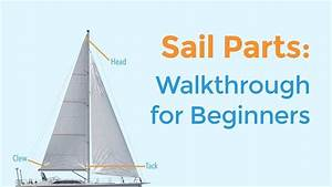 Sail Parts Explained Names  Terminology  U0026 Diagram