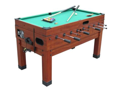 foosball air hockey combo table 13 in 1 combination game table in cherry the danbury
