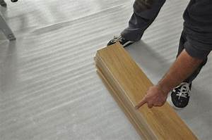 Poser Parquet Stratifié : pose de parquet flottant stratifi le bois chez vous ~ Melissatoandfro.com Idées de Décoration