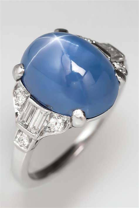 star sapphire ring ideas  pinterest star