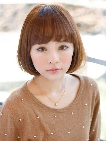 japanese bob hairstyle  girls hairstyles weekly
