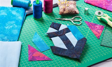 material basico  trabajos de patchwork hogarmania