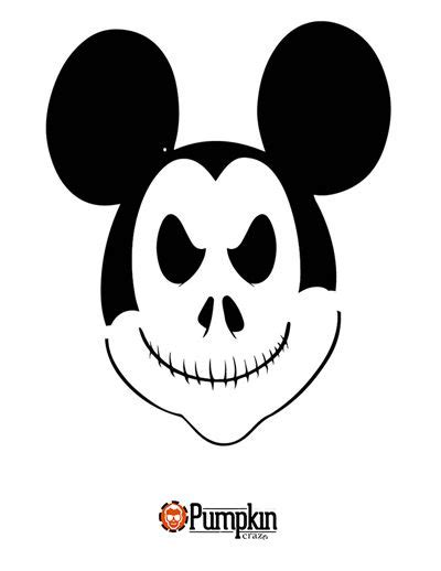 Vire Mickey Mouse Pumpkin Template by 17 Best Images About Disney Pumpkin Patterns On